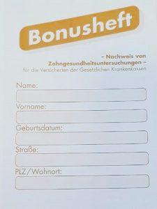 Bonusheft